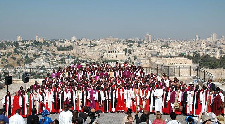 Bishops in Jerusalem