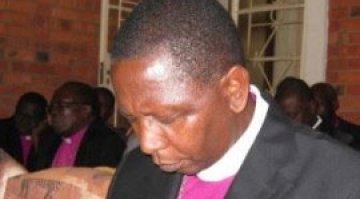 Bishop Stanley Praying